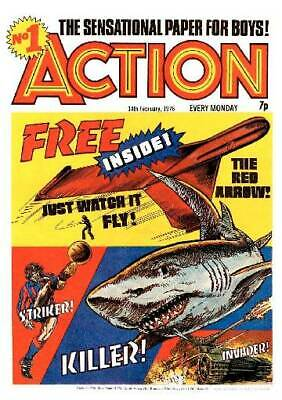 Action Comic Uk / Complete Dvd Rom - All 87 Issues + Annuals And Special • 3.99£