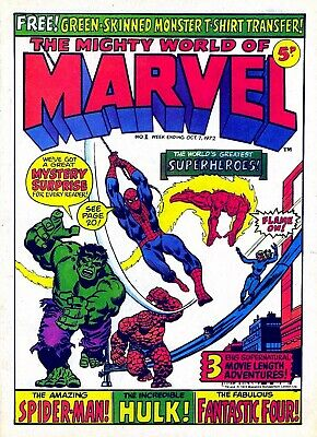 Mighty World Of Marvel - The First 200 Issues On  Dvd Rom • 3.99£