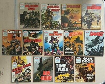 Battle Picture Library Comic Books X 13 Graphic Novels • 12£