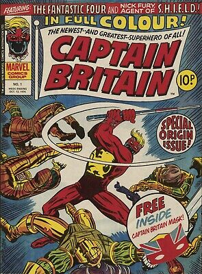 Captain Britain Comic -complete  Dvd Rom Collection • 3.99£