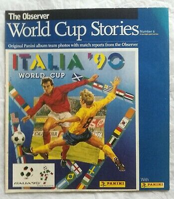 The Observer World Cup Stories, Italia 90, No.6 • 7.99£