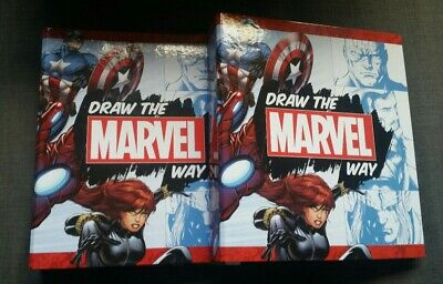 Hachette Partworks Draw The Marvel Way 1-28 + 2 Binders • 30£