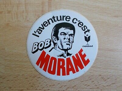 Rare Sticker L 'Aventure C' Is Bob Morane - Marabout • 14.40£