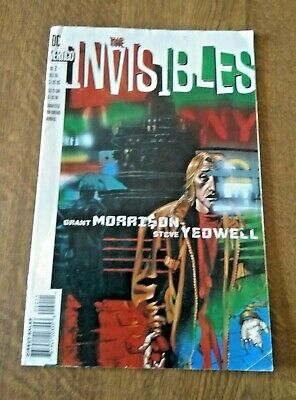 DC Vertigo The Invisibles Comic No 2 Oct 94 • 2.99£