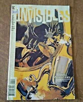 DC Vertigo The Invisibles Comic No 11 Aug 95 • 2.99£