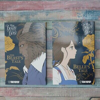 DISNEY / TOKYOPOP Beauty And The Beast TPB Manga (2017) Complete Set • 20£