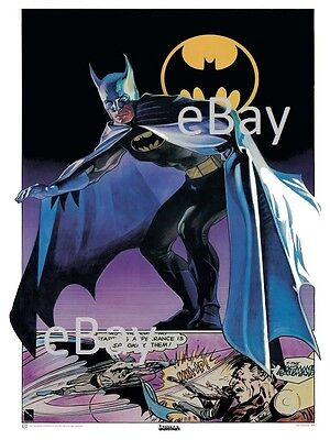 BATMAN POSTER Thought Factory 1977  • 17.50£