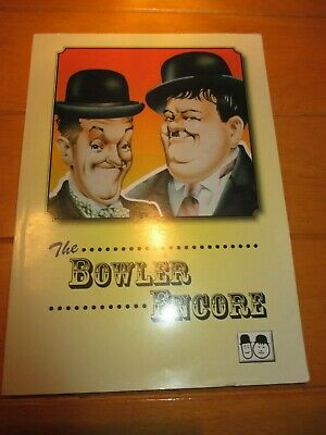 The Bowler Encore - Sons Of The Desert 37th UK Convention Book (Laurel & Hardy) • 5£
