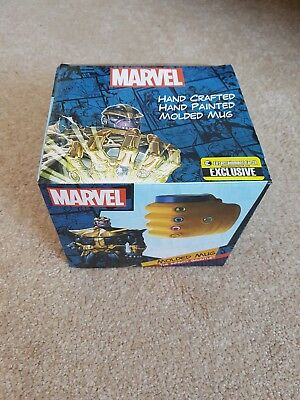 Marvel Moulded Mug The Infinity Gauntlet VERY RARE Limited Edition Thanos • 30£