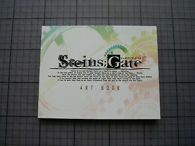 Steins Gate Limited Edition Anime Game Art Book 126 Pages • 5£
