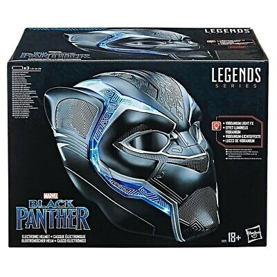 Hasbro Marvel Legends Series Black Panther 1:1 Scale Electronic Helmet Mask • 100£
