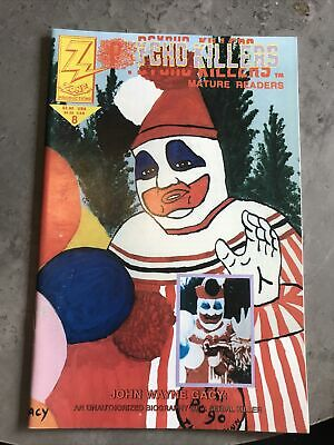 Psycho Killers No.8 1992 Zone Production Comic Mature Readers Only • 25£