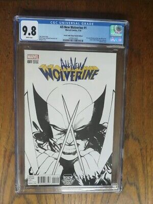 All-New Wolverine #1 CGC 9.8 LCSD Variant Local Comic Shop Day • 200£