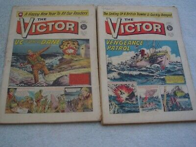 Victor Comic 1966. 48 Issues. Almost A Full Year Of Great Comics. • 92.75£