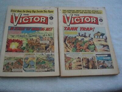 Victor Comic 1967. 48 Issues. Almost A Full Year Of Great Comics. • 96.50£