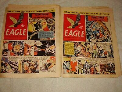 Eagle Comic.1955. Only £2 Each. 22 Issues. August To December. Volume #6. • 44£