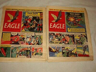 Eagle Comic.1955. Only £2 Each. 14 Issues. April To  July. Volume #6. • 28£