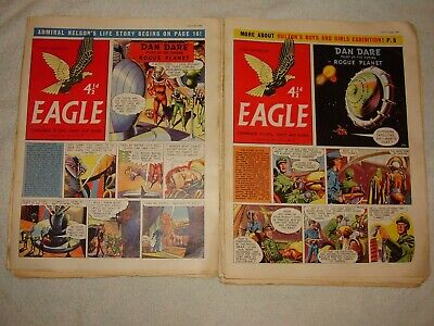 Eagle Comic.1956. Only £1.90 Each. 25 Issues.july To  December. Volume #7. • 47.50£