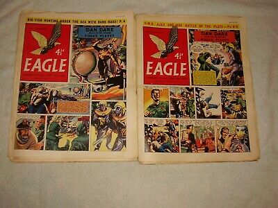 Eagle Comic 1956. Only £1.90 Each. 23 Issues. January To June. Volume #7. • 43.70£