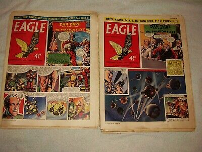 Eagle Comic 1958. Only £1.80 Each. 25 Issues. July To December. Volume # 9. • 45£