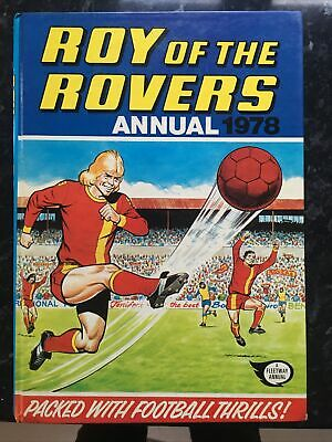 Roy Of The Rovers Annual 1978 • 4.99£