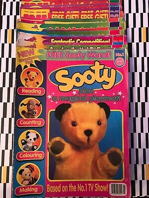 Sooty Magazine - 42 Issues - 1996-1998 - Sooty & Co Comic, Children's TV  • 49.99£