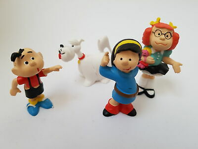 80025-DENNIS THE MENACE PVC Figuren Set GINA GILLOTI|MARGARET|DENNIS|DOG • 11.10£