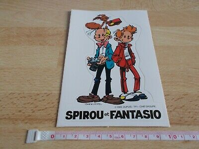 Sticker Spirou And Fantasio - 1993, Since • 2.73£