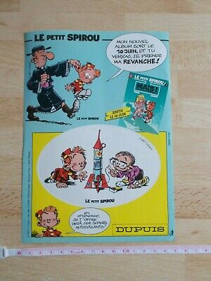 Board Of 2 Stickers The Petit Spirou 3 - Since - 1992 • 4.55£