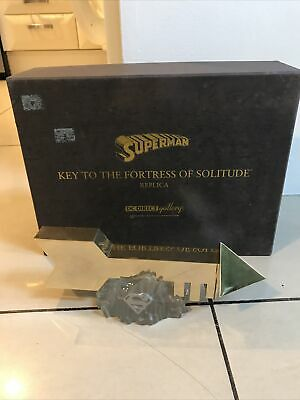 Superman Key To The Fortress Of Solitude - DC DIrect - Damaged Base - 321 Of 500 • 145£