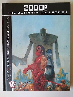 SLAINE: THE BRUTANIA CHRONICLES VOL.2 - 2000AD Ultimate Collection Issue 79 • 14£