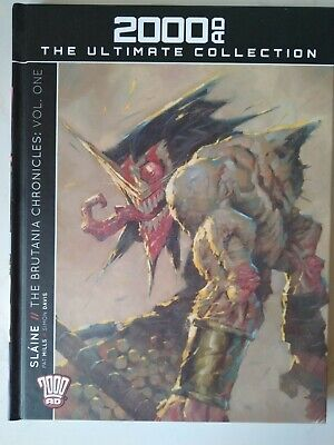 SLAINE: THE BRUTANIA CHRONICLES VOL.1 - 2000AD Ultimate Collection Issue 73 • 14£