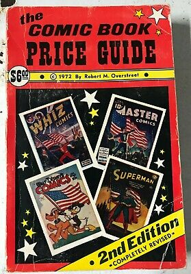 OVERSTREET COMIC BOOK PRICE GUIDE #2 1972 Softcover • 111.98£