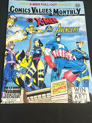 Comic Values Monthly #85 September 1993 • 13.52£
