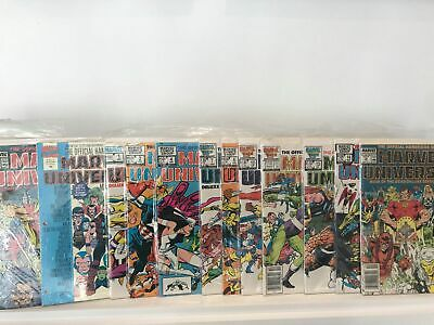 Marvel Universe / Who's Who (s) Bundle X 18 • 14£