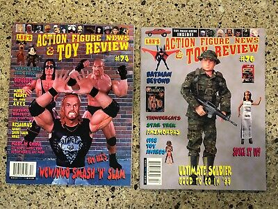 Lee's Action Figure News & Toy Review #74 #76 WCW NWO POTA Ultimate Soldier   • 7.66£