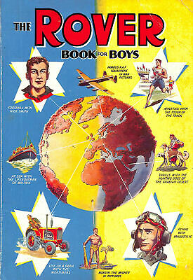 The Rover Book For Boys 1956 By No Author • 8.48£