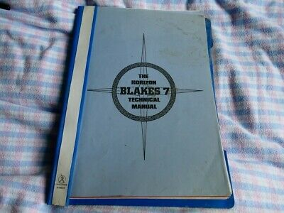 The Horizon Blake's 7 Technical Manual Parts 1 And 2 • 19.99£