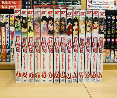 STRAWBERRY 100% 1-14 Manga Collection Complete Volumes Set ENGLISH RARE SEALED • 249.99£