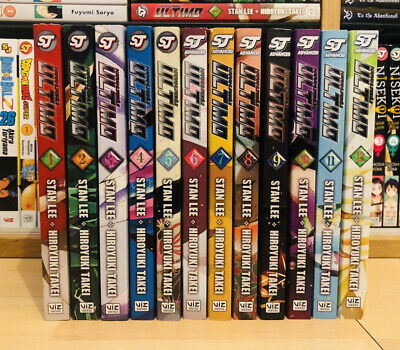 ULTIMO 1-12 STAN LEE Manga Complete Collection Set Run Volumes ENGLISH RARE OOP • 399.99£