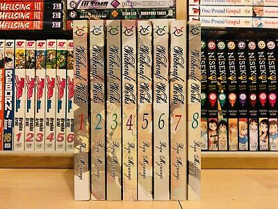 WITCHCRAFT WORKS 1-8 Manga Collection Complete Run Volumes Set ENGLISH RARE • 99.99£