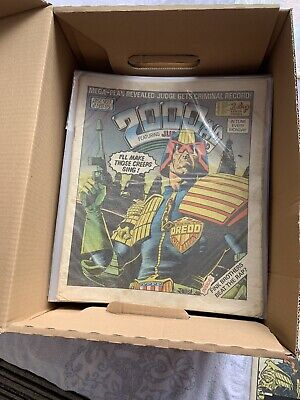 2000 AD Comics - Progs 400 To 499 - 100 PROG Complete Run. **ALL Cover Gifts** • 310£