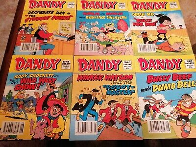 Dandy Comic Libraries X6 Consecutive Issues 237 To 242 • 1.80£