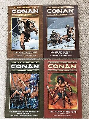 The Chronicles Of Conan Volume 1, 2, 3, 5, Paperback Excellent Condition • 40£