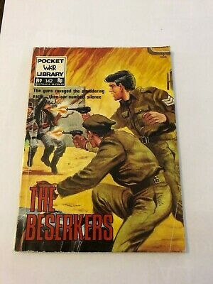 Pocket War Library No. 142 -  The Beserkers • 0.99£