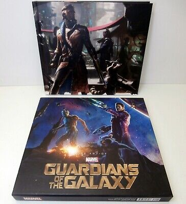 The Art Of Guardians Of The Galaxy - Rare H/B Marvel Book In Slipcase Excellent • 21£