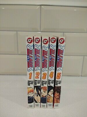Bleach Manga Volume 1-5 • 9.99£