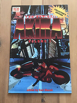 The Art Of Akira Volume 1  Collectors Edition Sales Catalogue 1989 • 20£