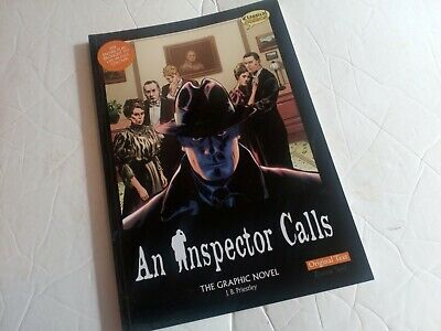 An Inspector Calls, The Graphic Novel, Paperback Book • 6.50£