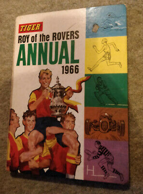 Tiger Roy Of The Rovers Annual 1966 • 0.99£